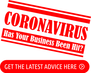 Has your business hit by coronavirus stamp